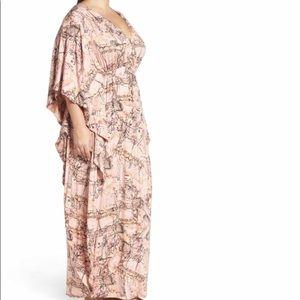 Melissa McCarthy Seven7 Dresses - Melissa McCarthy Seven7 pink  maxi dress sz 2X NWT